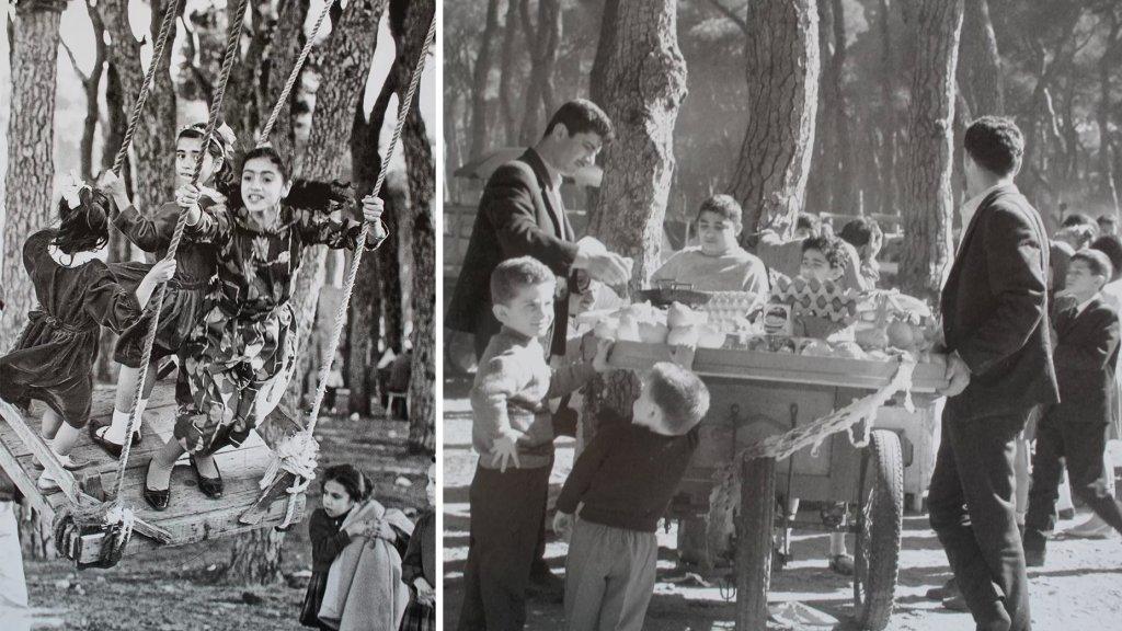 عندما كانت بيروت تنبض فرحة العيد.. صور من الستينات في حرش العيد