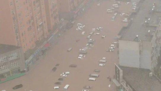 بالصور والفيديو/ بعد ألمانيا وبلجيكا.. الصين تشهد أمطارًا لم تعرف مثيلًا لها منذ 1000 عام!