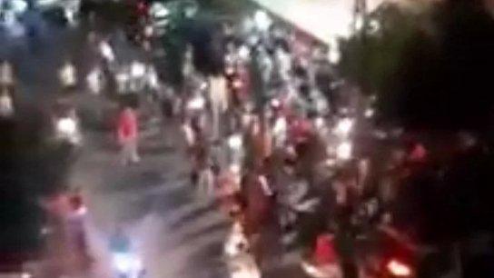 فيديو متداول: هجوم على مكتب للإشتراك في حارة حريك بسبب قطع الكهرباء