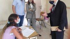 المجذوب أشرف على انطلاقة الإمتحانات الرسمية لشهادة الثانوية العامة: للحفاظ على قيمة الشهادة الرسمية اللبنانية