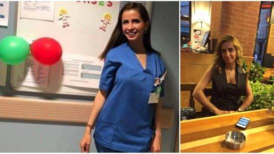 """إيلا إبنة الـ3 سنوات """"بعدا بتسأل وين الماما وبتبرم بالبيت بدا ياها""""… والزوج: """"جيسي الممرضة في مستشفى الروم ماتت بشغلها أثناء إنفجار 4 آب"""""""