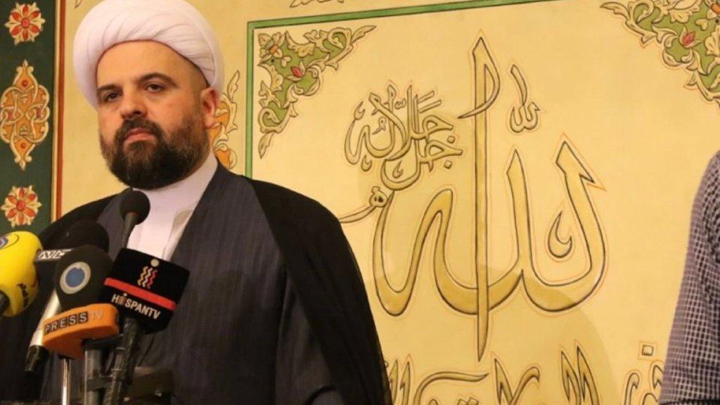 """المفتي أحمد قبلان: """"الخروج من هذا النفق يمر بحكومة فوق المصالح الطائفية وشراكة أكبر من الزواريب السياسية على قاعدة """"أم الصبي"""" وإلا فترحموا على لبنان"""""""
