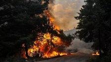 """""""سبوتنيك"""": المروحيات الروسية تشارك بإطفاء الحرائق اللبنانية قرب الحدود السورية"""