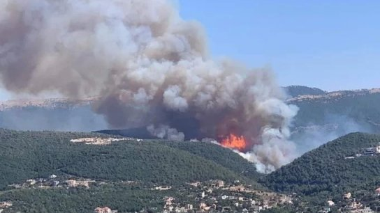مختار عندقت: رقعة النار كبيرة جداً... لطلب النجدة من الدول الصديقة لتأمين طائرات اطفاء كبيرة
