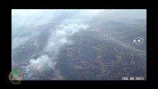 بالفيديو/ الجيش اللبناني: تواصل وحداتنا بمساندة الطوافات وبمشاركة الدفاع المدني والاهالي عمليات اخماد الحرائق المندلعة في القبيات وعندقت وجبل اكروم والجوار
