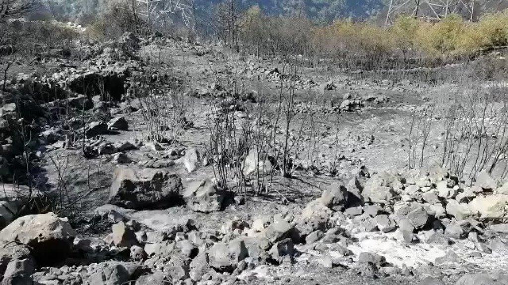 بالفيديو/  السيطرة بشكل كبير على الحرائق في بلدة الرويمة وأطراف بلدة البستان في جرود الهرمل