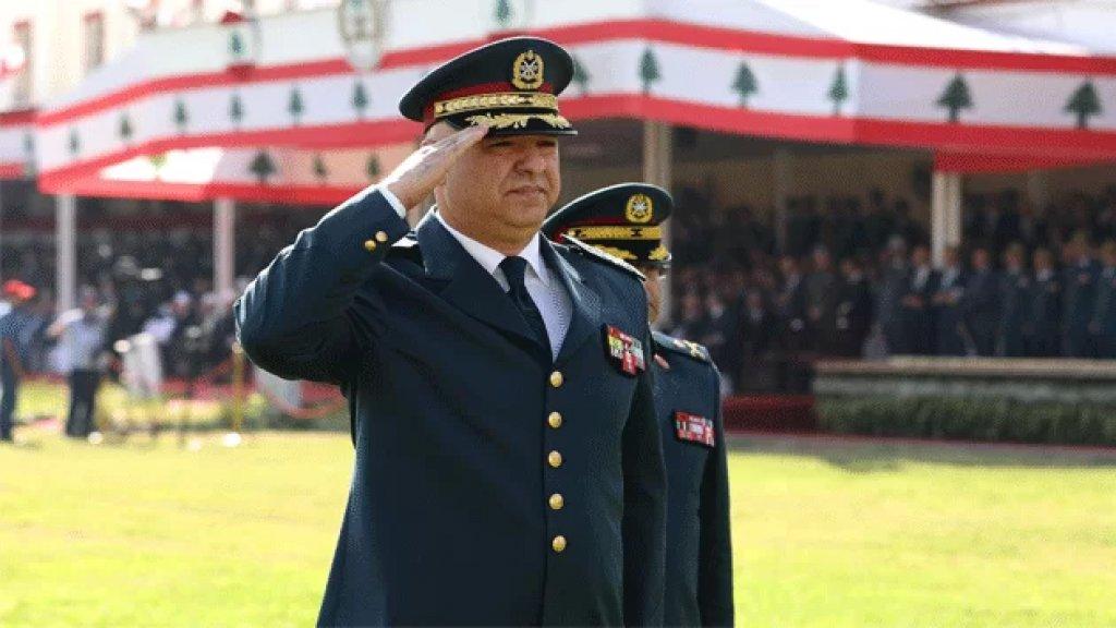 قائد الجيش بمناسبة العيد 76 للجيش: لبنان أمانة في أعناقنا ومن غير المسموح تحت أي ظرف إغراق البلد في الفوضى وزعزعة أمنه واستقراره