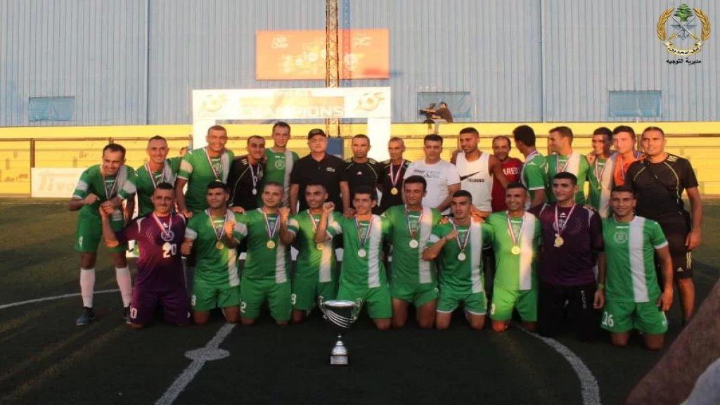 منتخب الجيش اللبناني يفوز بكأس لبنان بالميني فوتبول لعام ٢٠٢١