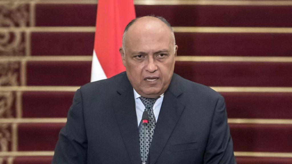 وزير الخارجية المصري: مصر تحاول مساعدة لبنان في الخروج من أزمته الراهنة