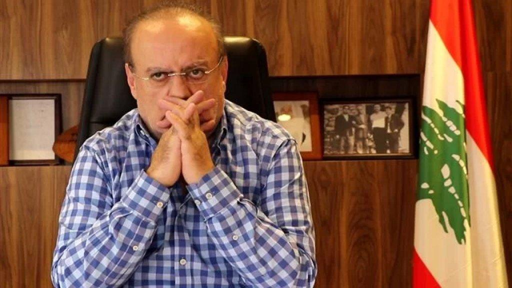 وئام وهاب: ما نتمناه أن يعالج الوضع في خلده - الساحل بالهدوء والعقل ونضع أنفسنا بالتصرف للمساعدة