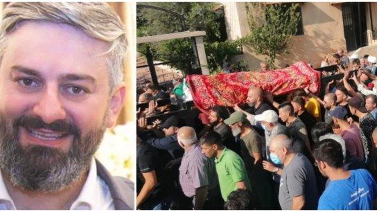 بلدة بوداي شيّعت ابنها الدكتور محمد أيوب الذي قضى أمس خلال إطلاق النار على موكب تشييع علي شبلي في خلدة