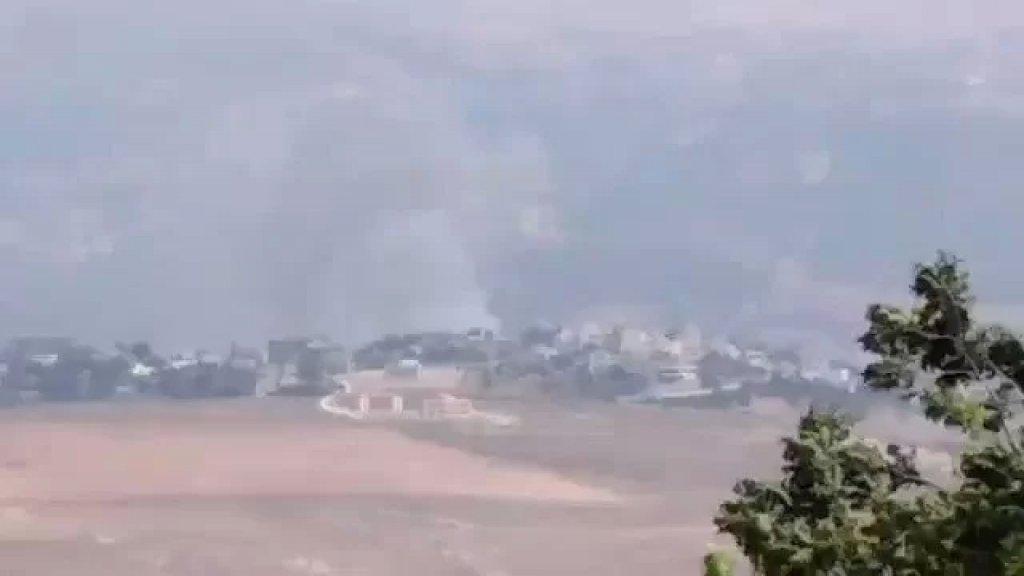 مدفعية الاحتلال تواصل استهداف منطقة الخريبة بين آبل السقي وراشيا الفخار