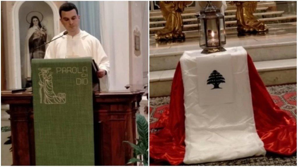قداس وصلوات في إيطاليا في الذكرى السنوية الأولى لانفجار مرفأ بيروت