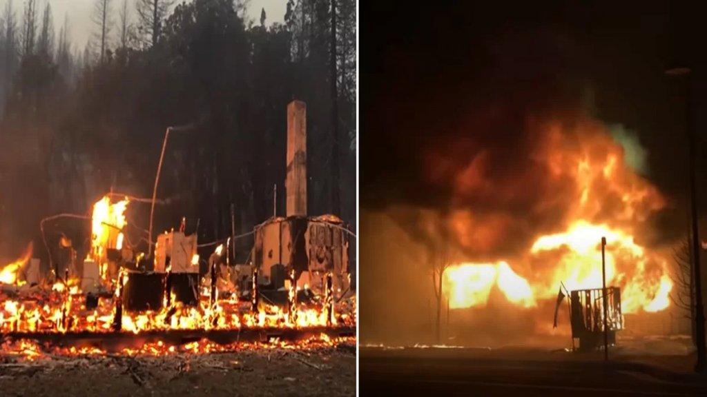 بالفيديو/ غابات كاليفورنيا تشتعل.. وإجلاء أكثر من 16 ألف شخص لإبعادهم عن الخطر