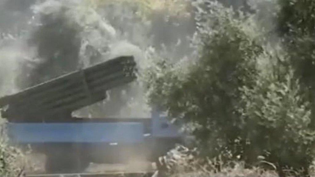 المقاومة تعلن عن قصف أراض مفتوحة قرب مواقع العدو في مزارع شبعا المحتلة بعشرات القذائف عيار 122 ملم