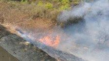 إندلاع حريق كبير في درب السيم وفرق الدفاع المدني والإطفاء تعمل على إخماده
