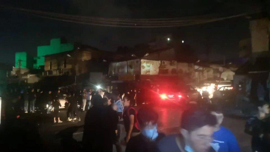 حركات إحتجاجية شهدتها مساءً مدينة النبطية تنديدًا بالعتمة الشاملة جراء توقف مولدات الإشتراكات الخاصة عن التغذية اثر نفاد المازوت