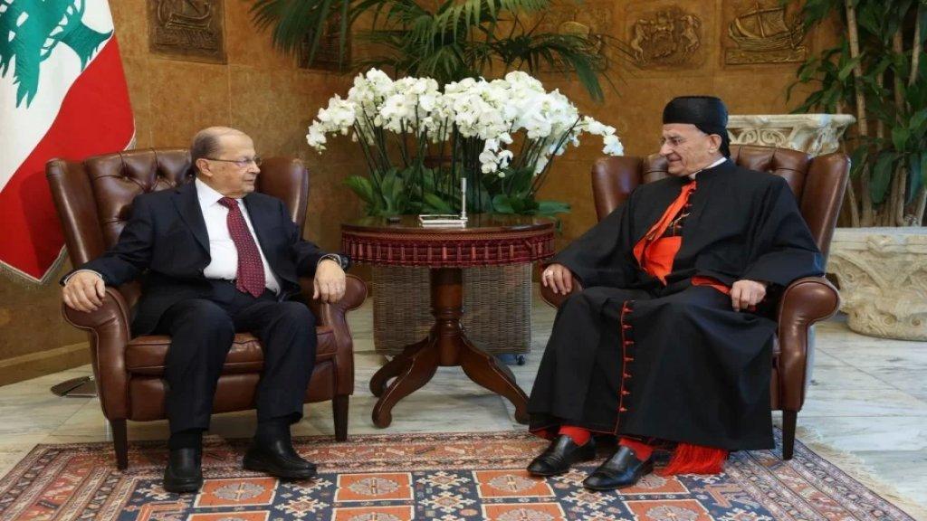 الرئيس عون اتصل بالبطريرك الراعي: التعرض للمقام البطريركي وشخص البطريرك مدان ومرفوض