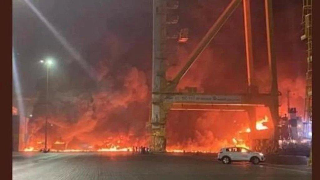 """الميادين تنشر وثيقة سرية حول انفجار ميناء جبل علي في 7 تموز الماضي: """"مقتل 3 إسرائيليين وإصابة 2 بجروح بالغة"""""""