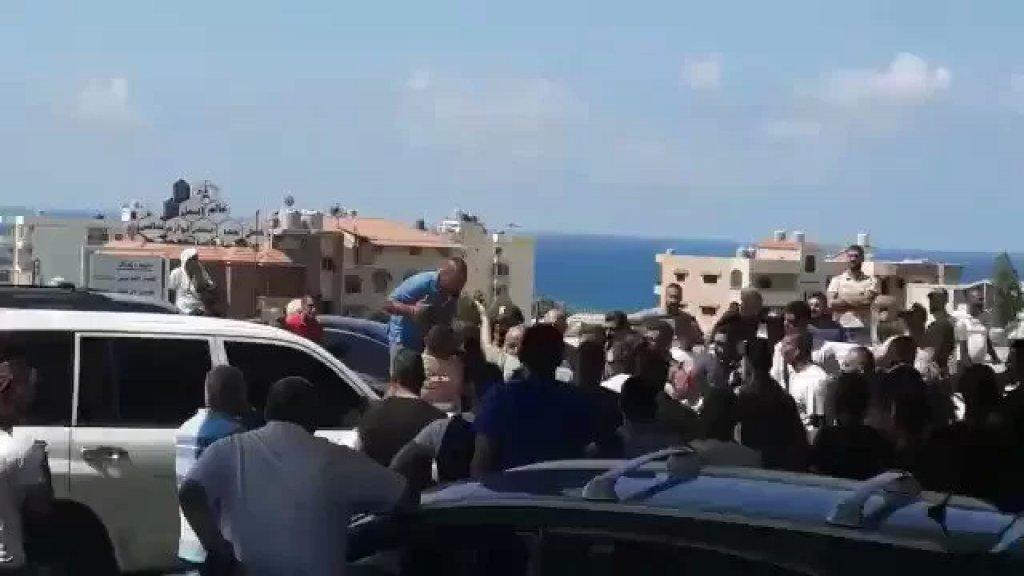 بالفيديو/ اشكال على محطة في الجية