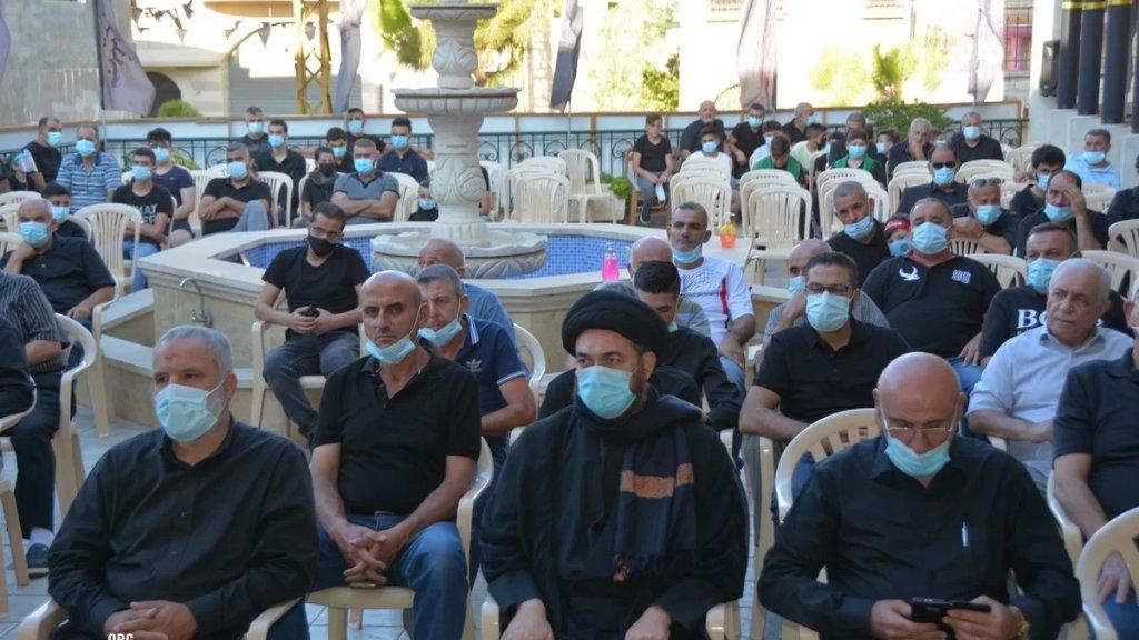 لقطات من إحياءات مجالس عاشوراء في الجامع الكبير في بنت جبيل