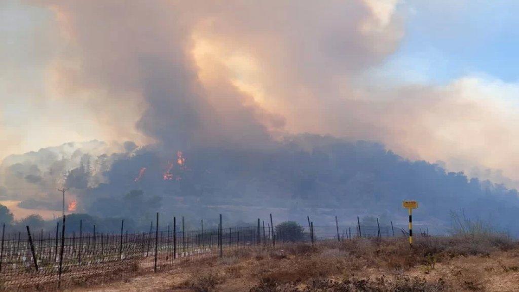 """""""إسرائيل"""" تطلب من اليونان فرنسا، إيطاليا، كرواتيا وقبرص المساعدة في إخماد الحرائق المندلعة في جبال القدس"""