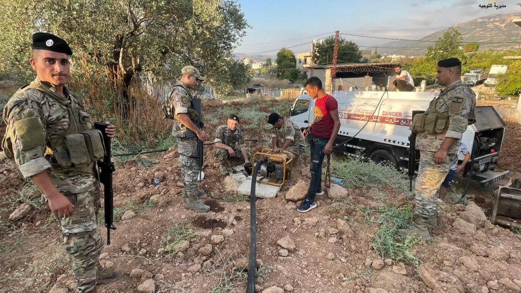 الجيش: مصادرة 100 ألف ليتر مازوت في زغرتا