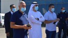 نقل ثلاثة من مصابي انفجار التليل ظهر اليوم على متن طائرة لتلقي العلاج في الإمارات