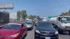 بالفيديو/ زحمة خانقة في الجية بسبب طوابير البنزين