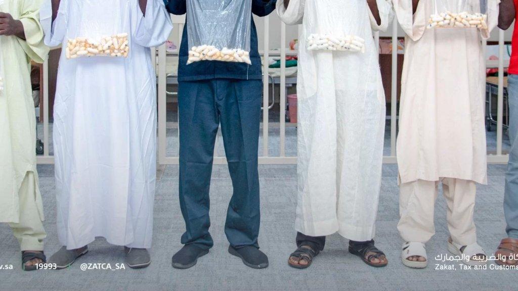 """السلطات السعودية تعثر على كمية مخدرات """"مخبأة في أحشاء مسافرين""""!"""