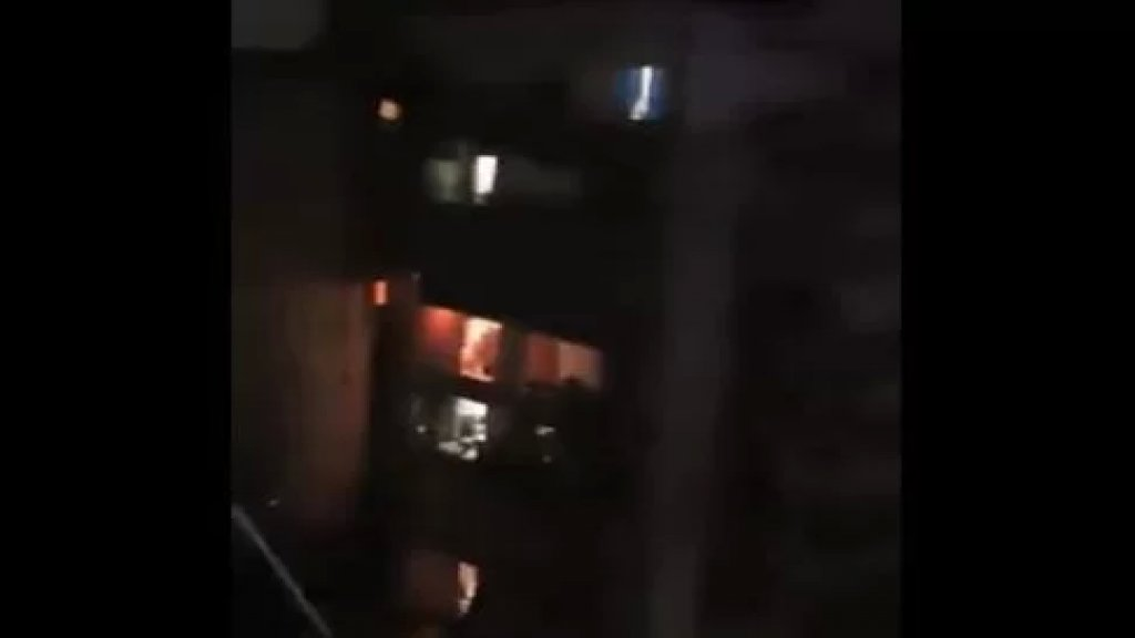بالفيديو/ الأهالي في الطريق الجديدة يحتفلون بعودة الكهرباء!