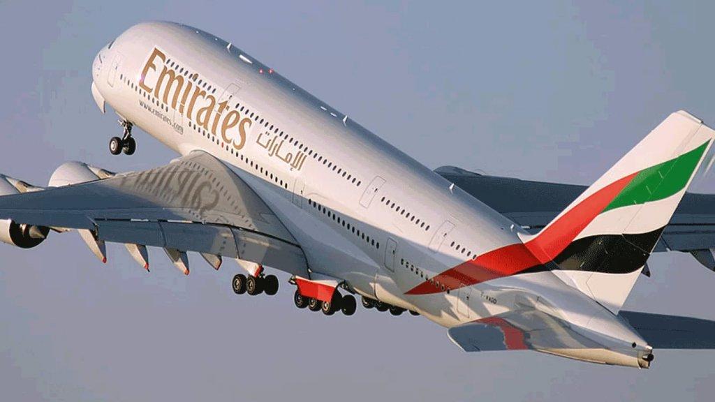 """""""طيران الإمارات"""" تمنح ركابها المسافرين إلى لبنان أوزان أمتعة إضافية لنقل الأدوية والسلع الأساسية"""