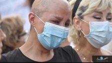 """بالصور/ من صرخة مرضى السرطان اليوم بوجه """"الإبادة"""": المريض لا يمكنه الانتظار!"""