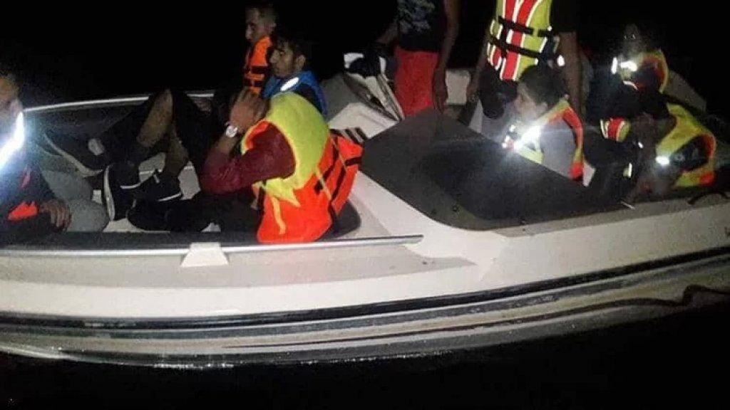 دخل مركبهم المياه اللبنانية عن طريق الخطأ أثناء هروبهم إلى قبرص فأوقفتهم القوات البحرية.. من الجنسية السورية