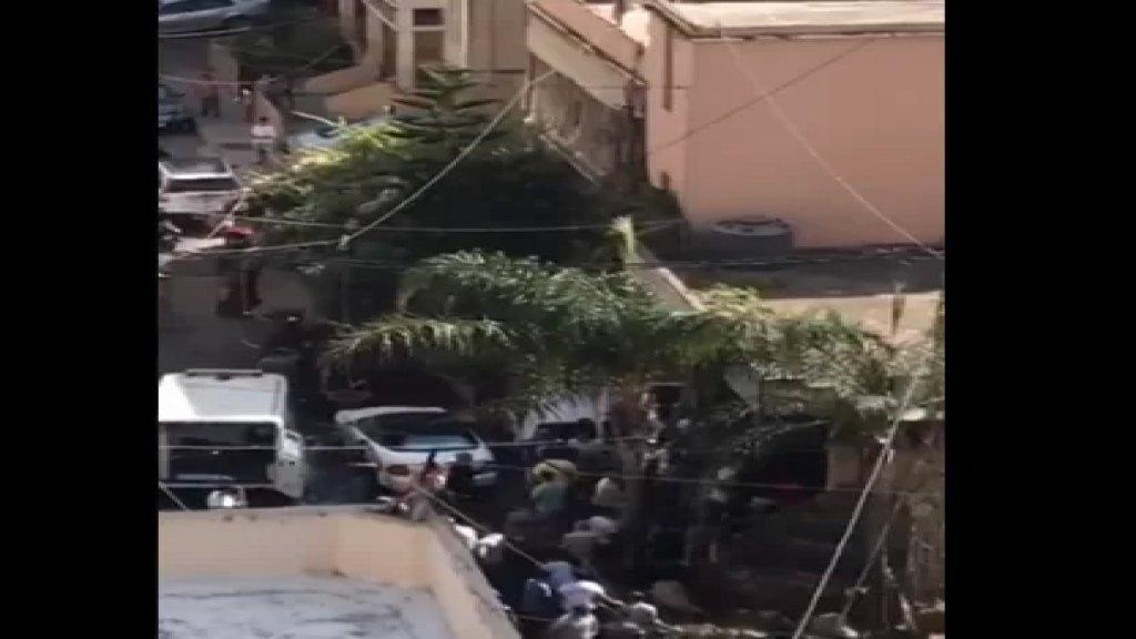 بالفيديو/ سقوط 3 ضحايا في انفجار وقع داخل معمل للقازانات في برج البراجنة!