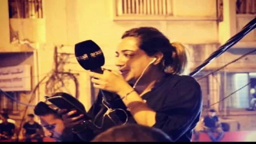 """بالفيديو/ الإعلامية راشيل كرم في آخر رسالة لها عبر """"الجديد"""".. إلى التحدي الثاني قريبًا"""