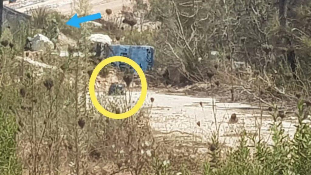 كيس اسود استنفر عناصر من قوات الاحتلال شمالي مستعمرة مسكفعام