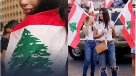 """مواقع عربية تنشر صورًا تعود لإحتجاجات تشرين 2019 وتزعم أنها خلال حملة أطلقتها اللبنانيات مؤخرًا بعنوان """"تزوجني بلا مهر""""!"""