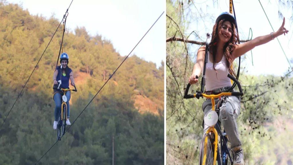 """بالفيديو/ لأول مرة عربيًّا.. """"الدراجات المعلقة"""": فريق سوري يؤسس مشروع """"سكاي بايك""""!"""