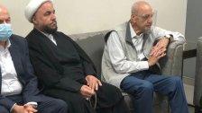 بالصورة/ الرئيس بري في مستشفى الزهراء اثر نبأ وفاة رئيس المجلس الاسلامي الشيعي الأعلى