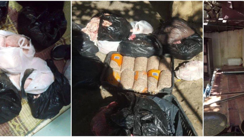بالصور/ غير مطابقة للمواصفات الصحية... ضبط 100 كيلو من اللحوم داخل ملحمة في منطقة كفرحيم!