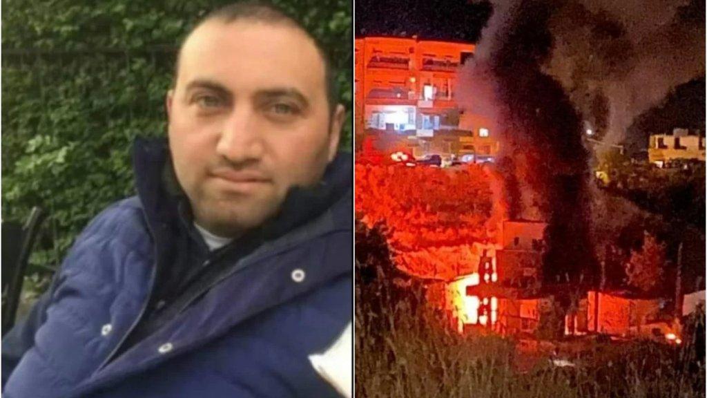 """وفاة صاحب محطة """"الشدراوي"""" متأثرا بإصابته في الحريق الذي إندلع في محطته في حدث الجبة قبل أيام"""