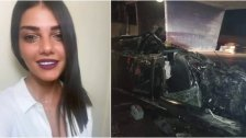 وفاة الشابة ستيفاني حواط إثر تعرضها لحادث سير على أتوستراد العقيبة البوار