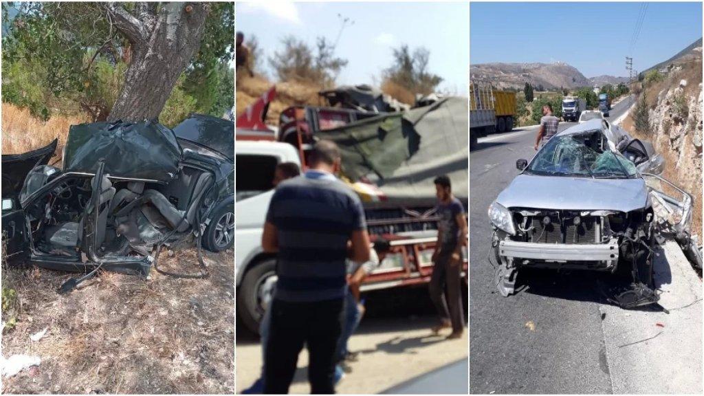 بالصور/ حوادث سير مروعة في مختلف المناطق... وسقوط ٣ قتلى