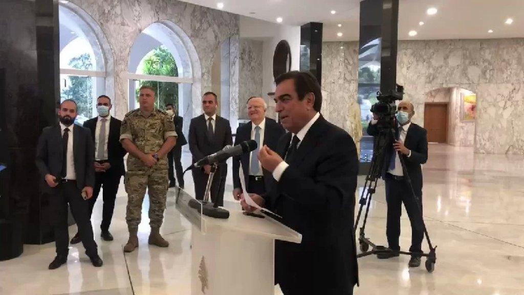 وزير الاعلام جورج قرداحي: فلنسمها حكومة الامل و العمل