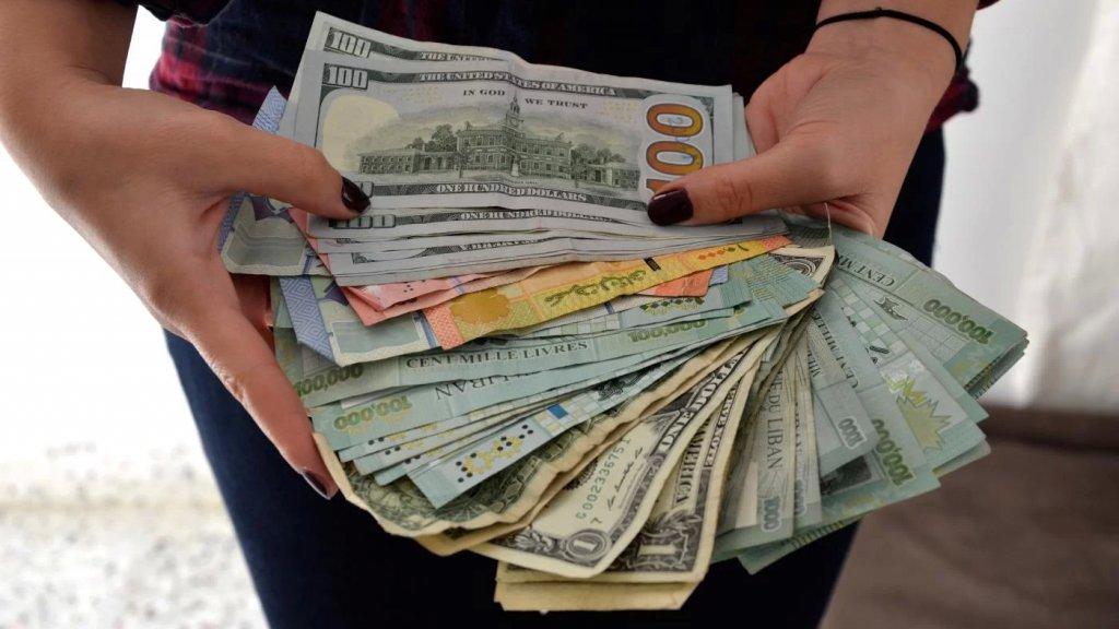 إنخفاض سعر صرف الدولار في السوق السوداء إلى ما دون الـ15 الف ليرة!