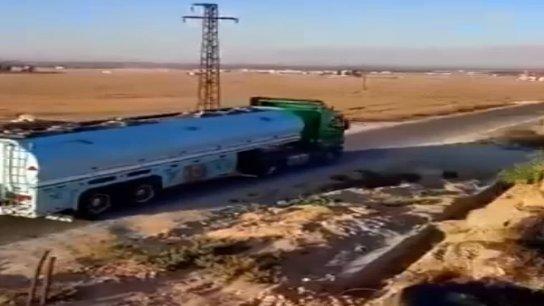 بالفيديو/ وصول صهاريج المازوت الإيراني إلى الأراضي اللبنانية