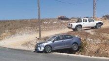 انقلاب سيارة فجر اليوم على طريق عام مرجعيون -الخيام وفرار سائقها.. ليتبين ان السيارة مسروقة من منطقة الجميزة!