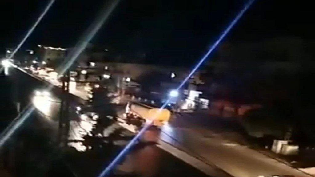 بالفيديو/ قافلة صهاريج مازوت تعبر الحدود السورية باتجاه لبنان