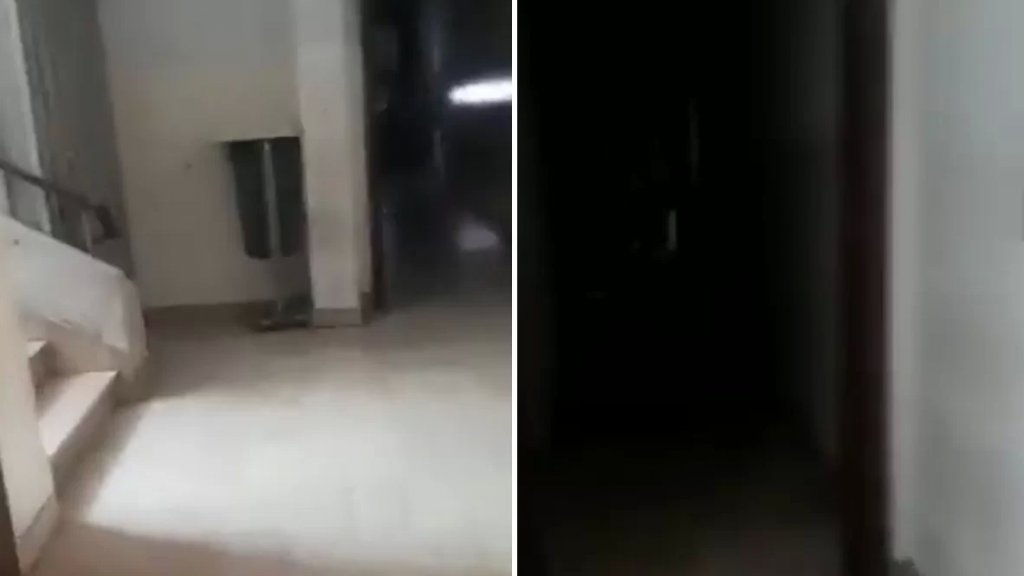 """بالفيديو/ قصر العدل في بعبدا.. """"عالعتمة""""!"""